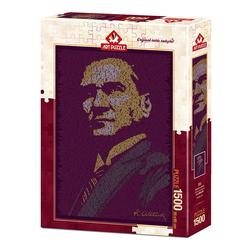 Art Puzzle Atatürk ve Nutuk 1500 Parça Puzzle 4552 - Thumbnail
