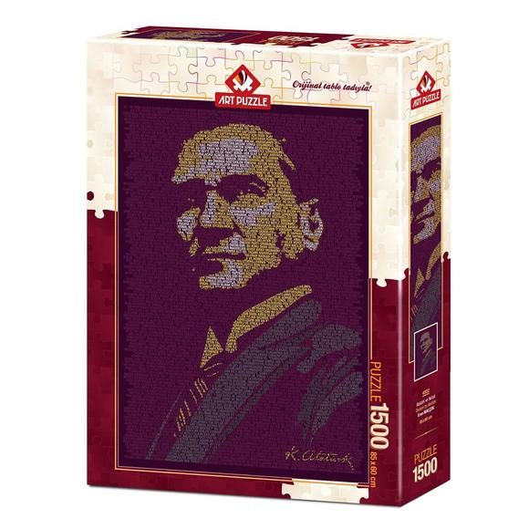 Art Puzzle Atatürk ve Nutuk 1500 Parça Puzzle 4552