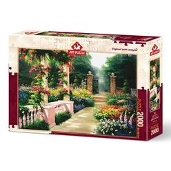 Art Puzzle Cennet Bahçesi 2000 Parça Puzzle 4570 - Thumbnail