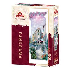 Art Puzzle Çiçekler İçinde Venedik 1000 Parça Panorama Puzzle 4484 - Thumbnail