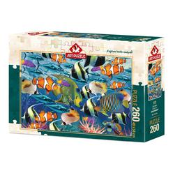Art Puzzle Çok Balık 260 Parça Puzzle 4270 - Thumbnail