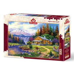 Art Puzzle Dağlarda Günbatımı 1000 Parça Puzzle 4230 - Thumbnail