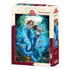 Art Puzzle Denizkızları 500 Parça Puzzle 4209 - Thumbnail
