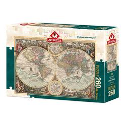 Art Puzzle Dünya Haritası 260 Parça Puzzle 4276 - Thumbnail