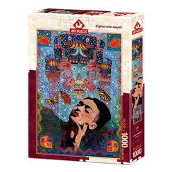 Art Puzzle Frida 1000 Parça Puzzle 4228 - Thumbnail