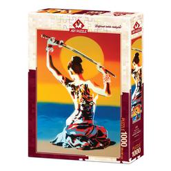 Art Puzzle Güneşin Kızı 1000 Parça Puzzle 4234 - Thumbnail