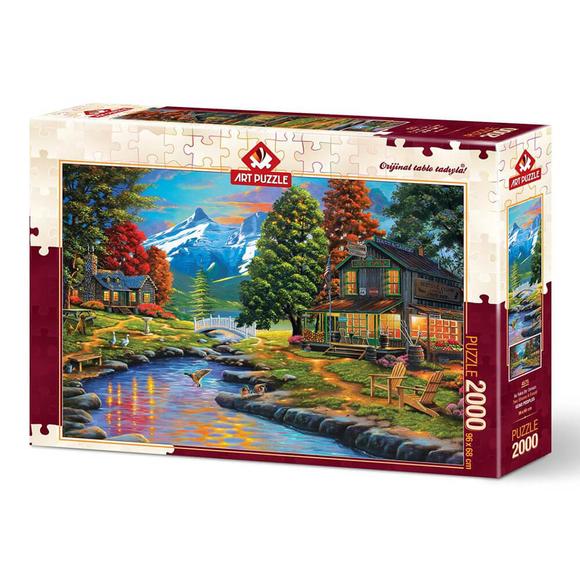 Art Puzzle İki Yaka Bir Orman 2000 Parça Puzzle 4575