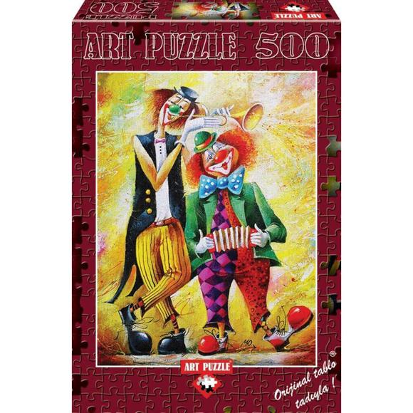 Art Puzzle 500 ParçaKomik İkili4182
