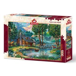 Art Puzzle Masal Evi 1000 Parça Puzzle 4223 - Thumbnail