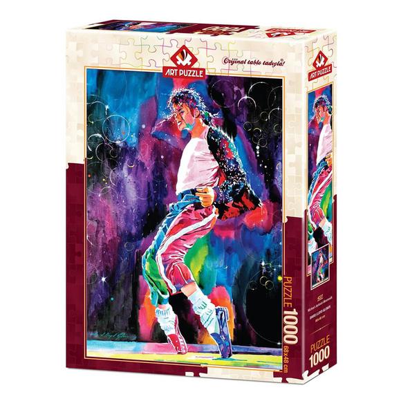 Art Puzzle Michael Jackson Moonwalk 1000 Parça Puzzle 4227