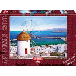 Art Puzzle Mykonos 500 Parça Puzzle 4184 - Thumbnail