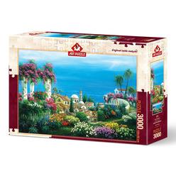 Art Puzzle Sahil Kasabası 3000 Parça Puzzle 4590 - Thumbnail