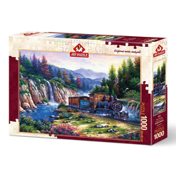 Art Puzzle Trenle Yolculuk 1000 Parça Puzzle 4233 - Thumbnail