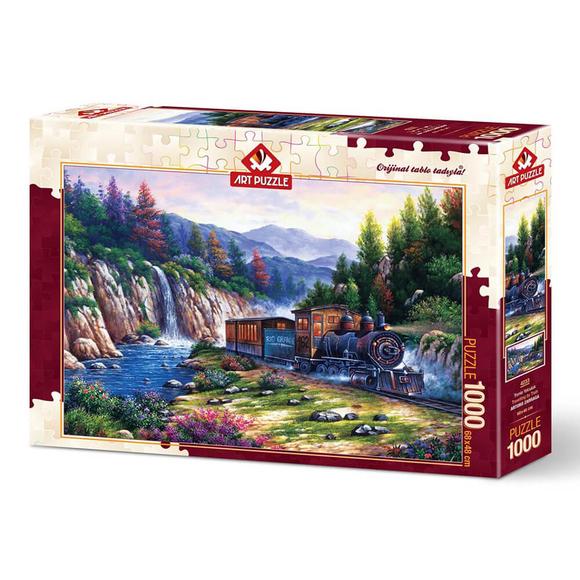 Art Puzzle Trenle Yolculuk 1000 Parça Puzzle 4233