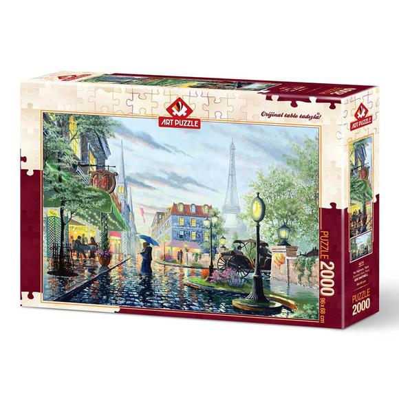 Art Puzzle Yaz Yağmuru, Paris 2000 Parça Puzzle 4574