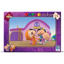Art Puzzle24 Parça Frame Pepee Kutu Kutu Pense Oynuyor 4595 - Thumbnail