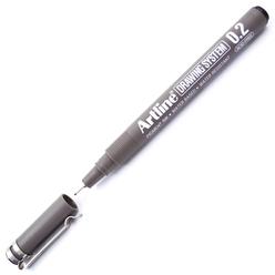 Artline Çizim Kalemi 0.2 mm Siyah EK-232 - Thumbnail