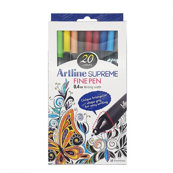 Artline Supreme Fine Pen Set 20 Renk