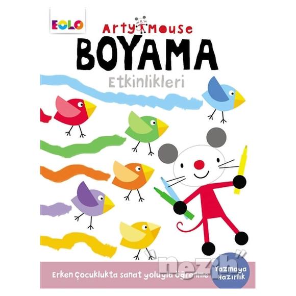 Arty Mouse - Boyama Etkinlikleri