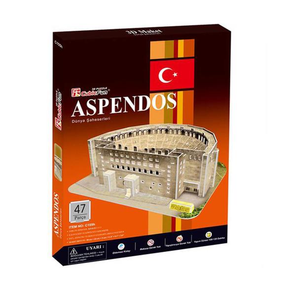 Aspendos 47 Parça 3D Puzzle C155H
