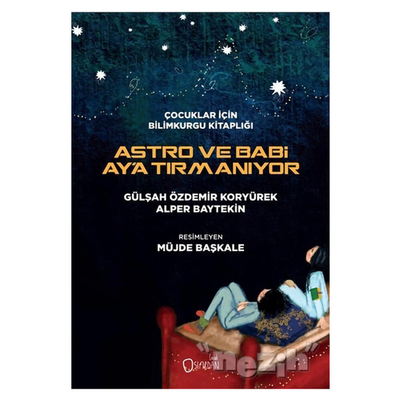 Astro ve Babi Ay'a Tırmanıyor