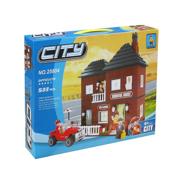 Ausini City Şehir Seti 533 Parça 25804