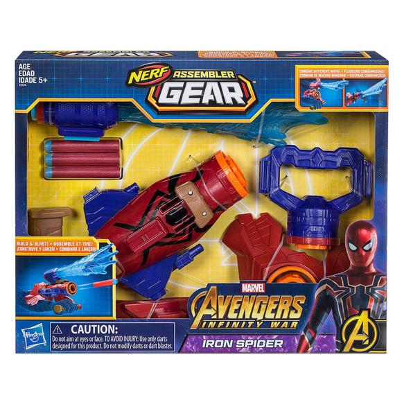 Avengers Assembler Gear Spiderman Fırlatıcı E2134