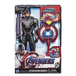 Avengers Endgame Titan Hero Power Fx 2.0 Captain America Figür E3301 - Thumbnail