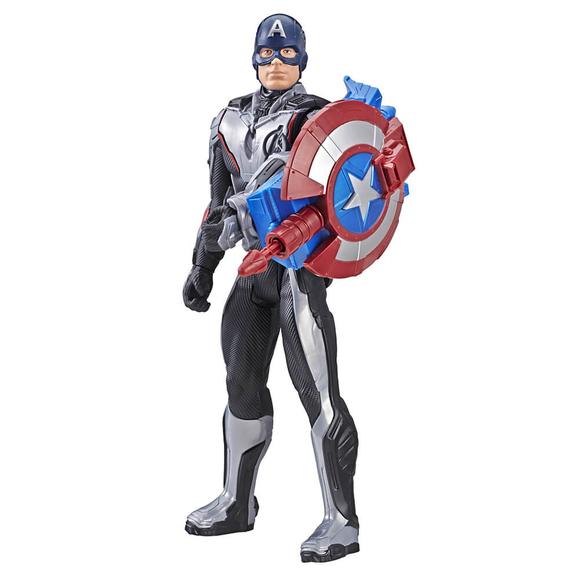 Avengers Endgame Titan Hero Power Fx 2.0 Captain America Figür E3301