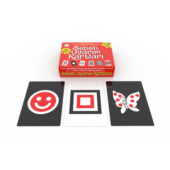 Aybino Bebek Uyarım Kartları Kutu Oyunu