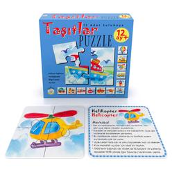 Aybino Taşıtlar Puzzle - Thumbnail