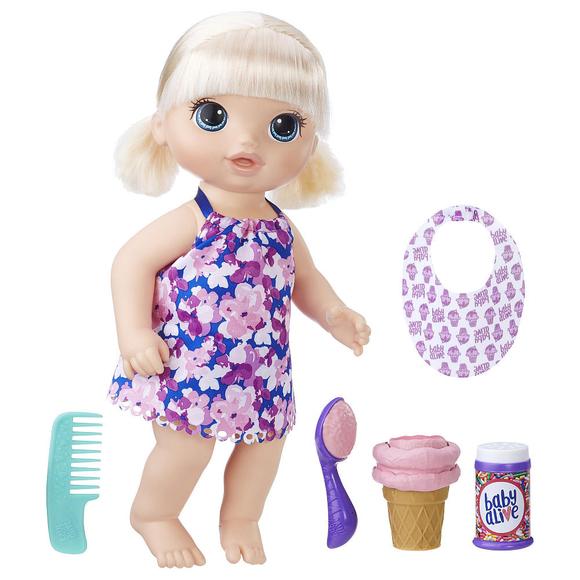 Baby Alive Bebeğimle Dondurma Zamanı C1090