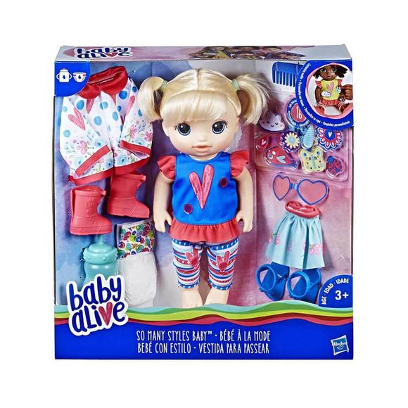 Baby Alive Bebeğimle Moda ZamanıE2101