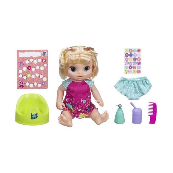 Baby Alive Eğlenceli Bebeğim Tuvalet EğitimindeE0609