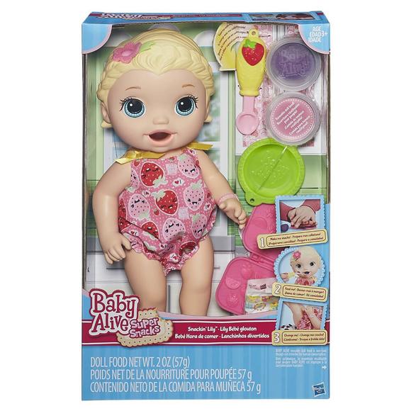 Baby Alive Lily İle Mama Eğlencesi B5013
