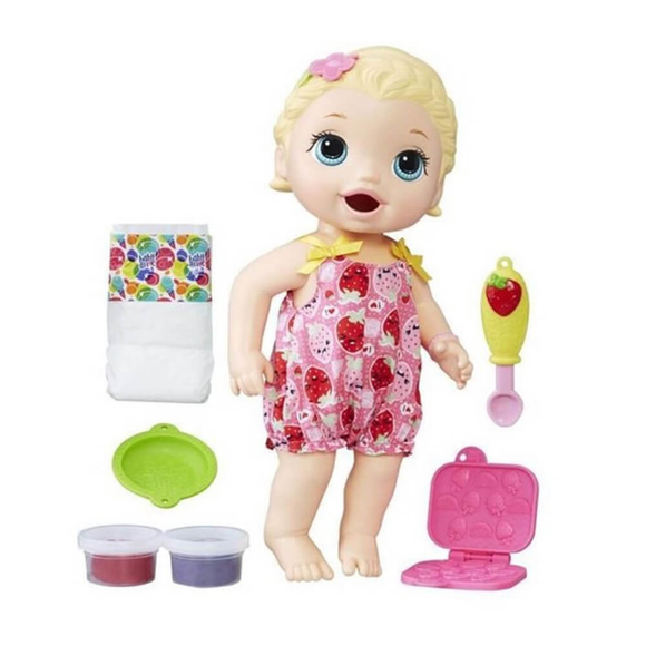 Baby Alive Lily İle Mama Eğlencesi E5841