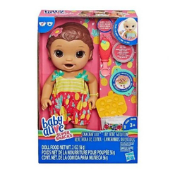 Baby Alive Lily İle Mama Eğlencesi Kumral E5842 - Thumbnail