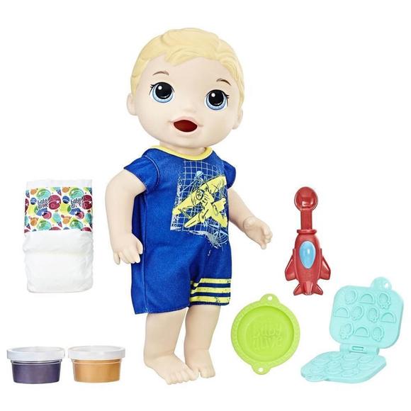 Baby Alive Luke İle Mama Eğlencesi C1883