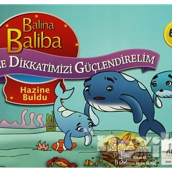 Balina Baliba ile Dikkatimizi Güçlendirelim - Hazine Buldu