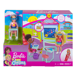 Barbie Chelsea Okulda Oyun Seti GHV80 - Thumbnail