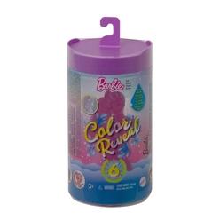 Barbie Color Reveal Renk Değiştiren Sürpriz Chelsea Bebek, 6 sürprizle gelen parıltılı set GWC59 - Thumbnail