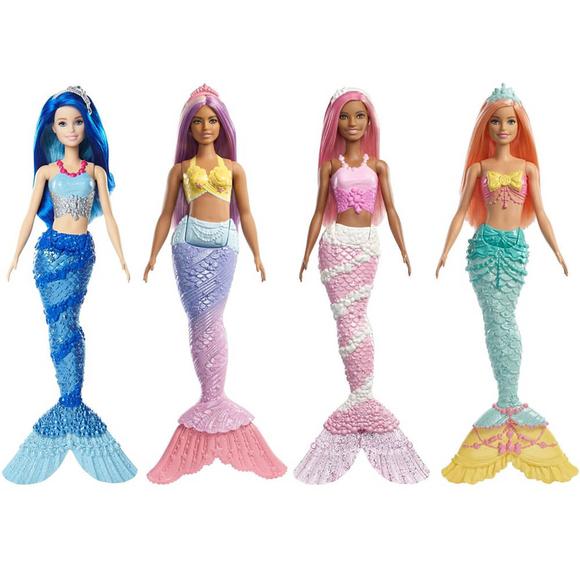 Barbie Dreamtopia Deniz Kızı Bebekler FXT08