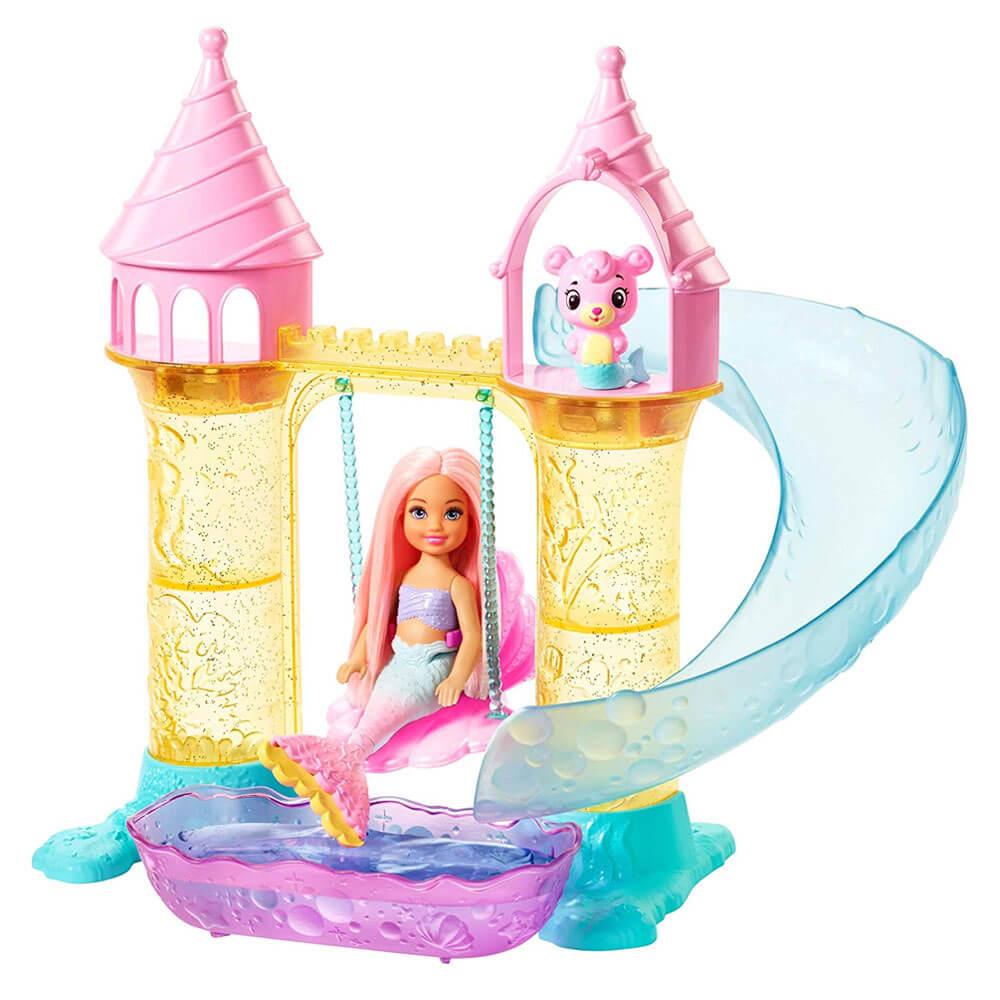 Barbie Dreamtopia Deniz Kizi Chelsea Ve Satosu Oyun Seti Fxt20 Nezih