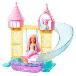 Barbie Dreamtopia Deniz Kızı Chelsea Ve Şatosu Oyun Seti FXT20 - Thumbnail