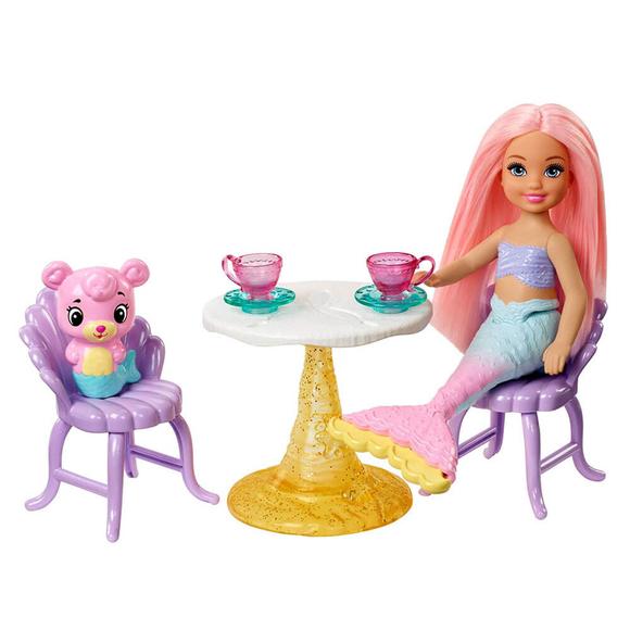 Barbie Dreamtopia Deniz Kızı Chelsea Ve Şatosu Oyun Seti FXT20