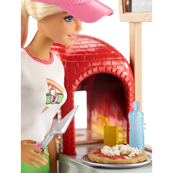Barbie Pizza Yapıyor Oyun Seti FHR09 - Thumbnail