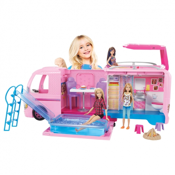 Barbie'nin Muhteşem Karavanı FBR34
