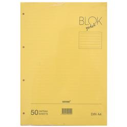 Bayındır A4 Çizgili Kolej Yedeği 50 Yaprak Sarı - Thumbnail