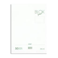 Bayındır Çizgili Klasör Yedeği A5 50 Yaprak Beyaz BBN0221 - Thumbnail