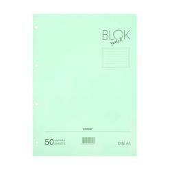 Bayındır Çizgili Klasör Yedeği A5 50 Yaprak Mavi - Thumbnail